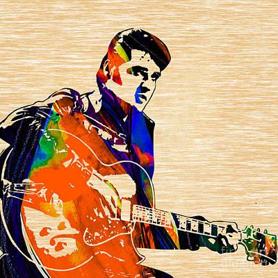 Elvis Presley Mixed Media - Elvis Presley Collection by Marvin Blaine