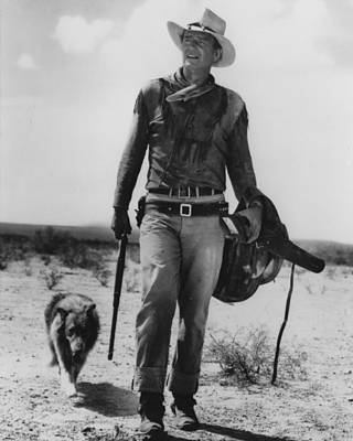 The Cowboy Photograph - John Wayne by Retro Images Archive