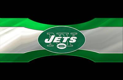 New York Jets Print by Joe Hamilton