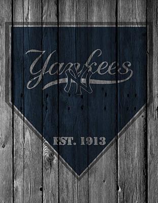 New York Yankees Print by Joe Hamilton