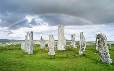 Megalith Photograph - Standing Stones Of Callanish by Martin Zwick