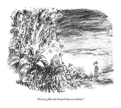Untitled Print by Robert Weber