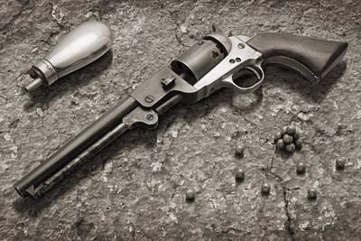 1851 Navy Revolver 36 Caliber - 2 Print by Mike McGlothlen