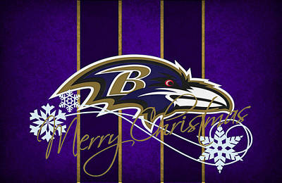 Baltimore Ravens Print by Joe Hamilton