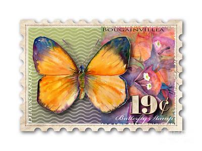 19 Cent Butterfly Stamp Print by Amy Kirkpatrick