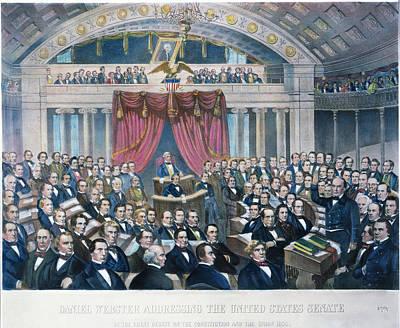Daniel Webster (1782-1852) Print by Granger