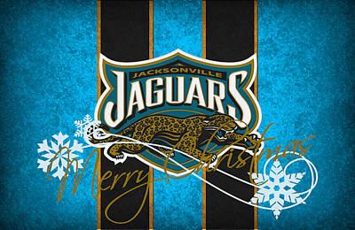 Santa Photograph - Jacksonville Jaguars by Joe Hamilton