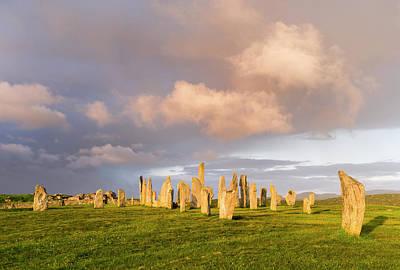 Standing Stones Of Callanish Print by Martin Zwick