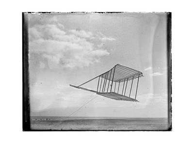 1900 Wright Brothers Glider Print by MMG Archives