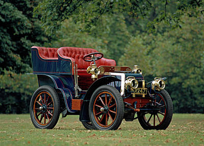 1902 Panhard Et Levassor 7 Hp Rear Print by Panoramic Images