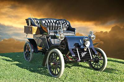 1903 Cadillac A Tonneau Print by Dave Koontz