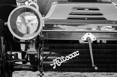 1906 Autocar Type 10 Runabout Grille Emblem Print by Jill Reger