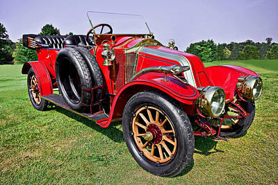 Pretty Photograph - 1909-renault Type A-1 Torpedo by Marcia Colelli