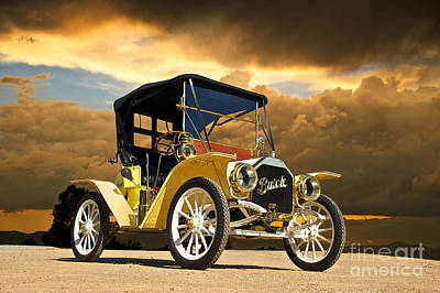 Horseless Carriages Photograph - 1910 Buick Roadster IIi by Dave Koontz