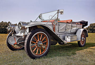 Automotive Photograph - 1910 Franklin Model H by Marcia Colelli