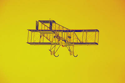 1910 Henri 3 Biplane Pop Art Print by Keith Webber Jr