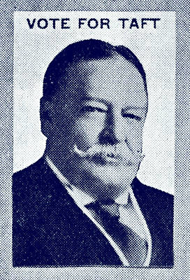 1912 Vote Taft For President Print by Historic Image