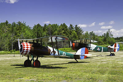 1917 Nieuport 28c.1 Fighter World War One Photo Print by Keith Webber Jr