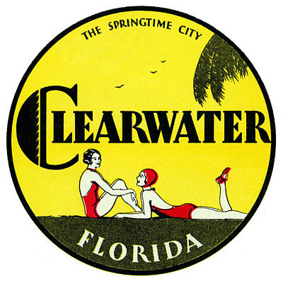 Liberating Painting - 1923 Clearwater Florida by Historic Image