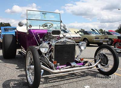 1923 Ford Model T Photograph - 1923 Ford Model T Convertible Roadster by John Telfer