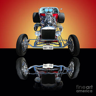 1923 Ford Model T Photograph - 1923 Ford Rat Tee T Bucket by Jim Carrell