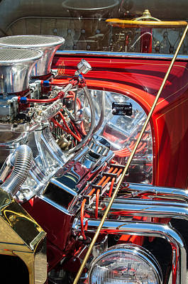 Street Rod Photograph - 1923 Ford T-bucket by Jill Reger