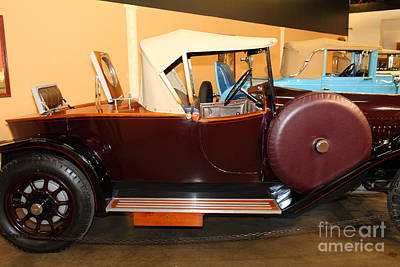 Cars Photograph - 1924 Delage Di Boattail Roadster 5d25707 by Wingsdomain Art and Photography