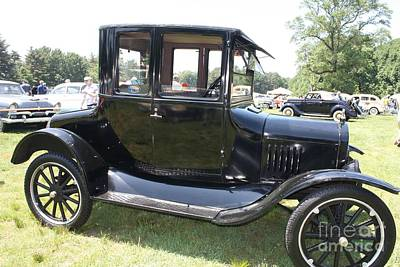 Telfer Photograph - 1924 Model T by John Telfer