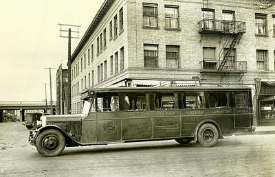 1926 Dodge Intercity Bus Print by Daniel Hagerman