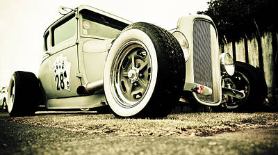 D700 Photograph - 1928 Ford Model A Hot Rod by Phil 'motography' Clark