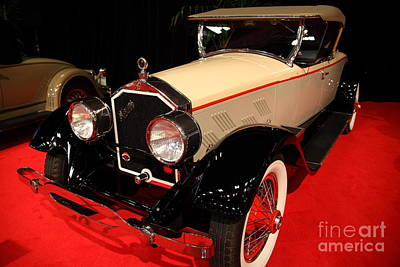 1928 Stearns Knight F-6 Roadster 5d26807 Print by Wingsdomain Art and Photography