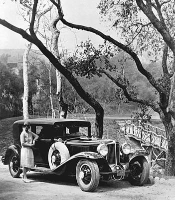 Indiana Photograph - 1929 Auburn Sedan by Underwood Archives