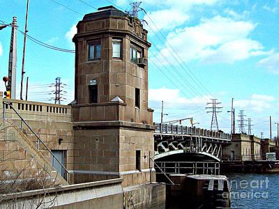 Mj Photograph - 1929 Dix Lift Bridge by MJ Olsen