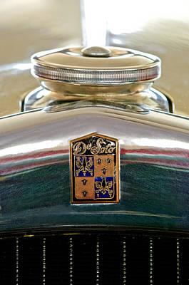 1930 Desoto K Hood Ornament Emblem Print by Jill Reger