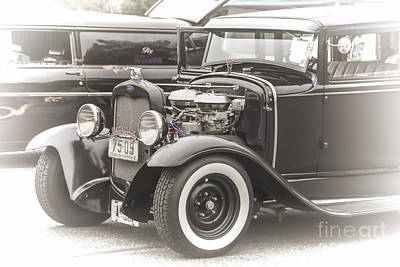 Photograph - 1930 Ford by Ron Roberts