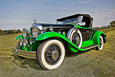 Awesome Photograph - 1930 Willys Knight 66 B Roadster by Marcia Colelli