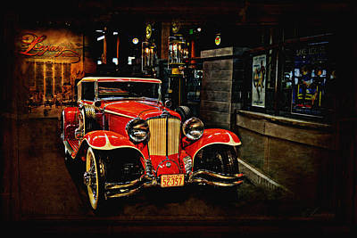 1931 Cord L-29 Print by Maria Angelica Maira