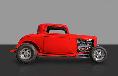 1932 Ford Coupe Print by Frank J Benz