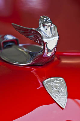 1933 Plymouth Hood Ornament Print by Jill Reger