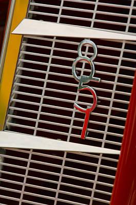 Auburn Photograph - 1935 Auburn 851 Cabriolet Grille Emblem by Jill Reger