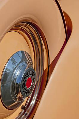 1936 Packard Spare Tire  Print by Jill Reger