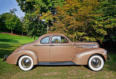 Automobile Photograph - 1936 Studebaker Dictator Coupe by Marcia Colelli
