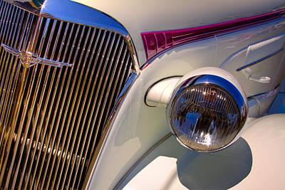 1937 Chevy 4 Door Sedan Print by David Patterson