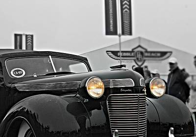 Classic Car Photograph - 1937 Chrysler Imperial by Steve Natale