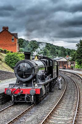 Train Photograph - 1938 Steam Loco by Adrian Evans
