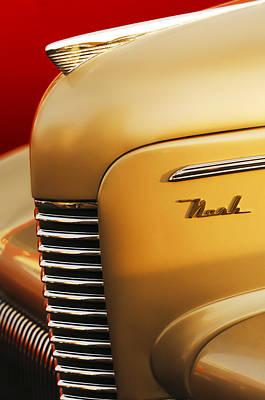 1940 Nash Sedan Grille Print by Jill Reger