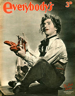 Mens Shoe Photograph - 1940s Uk Everybodys Magazine Cover by The Advertising Archives