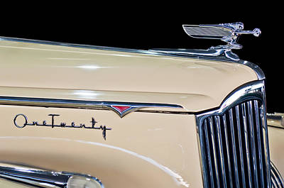 1941 Packard Hood Ornament Print by Jill Reger