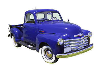 Chevrolet Photograph - 1947 Chevrolet Thriftmaster Antique Pickup by Keith Webber Jr