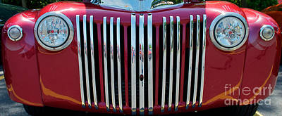 1947 Ford Truck Grill Print by Mark Dodd